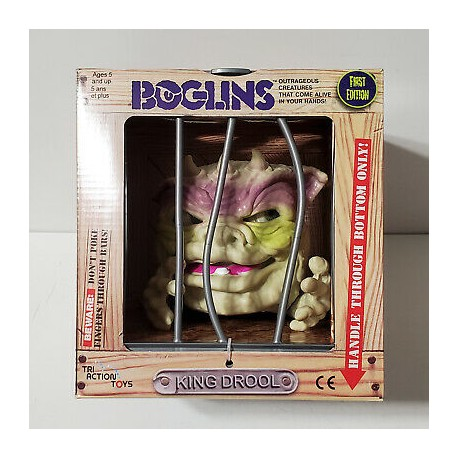 Boglins King Dwork jouet vintage first edition