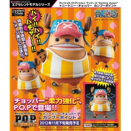 MEGAHOUSE ONE PIECE POP P.O.P PORTRAIT OF PIRATES Tony Tony Chopper Kung-Fu Point Ver.