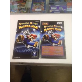 DANCING STAGE MARIO MIX GAME CUBE NINTENDO notice / mode emploi / jeux video / retro gaming