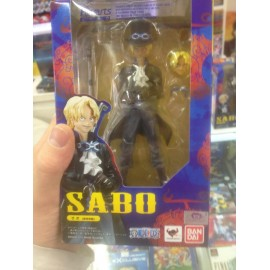 BANDAI FIGUARTS ZERO ONE PIECE ZERO SABO NEW WORLD VER