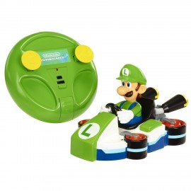 Jakks - World Of Nintendo - Mario Kart 8 IR Wall Climber - Luigi