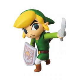 Nintendo mini figurine Medicom UDF série 1 Link The Legend of Zelda: The Wind Waker 6 cm