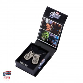 Marvel Captain America repliques pendentifs Dog Tag Steven Rogers EE Exclusive