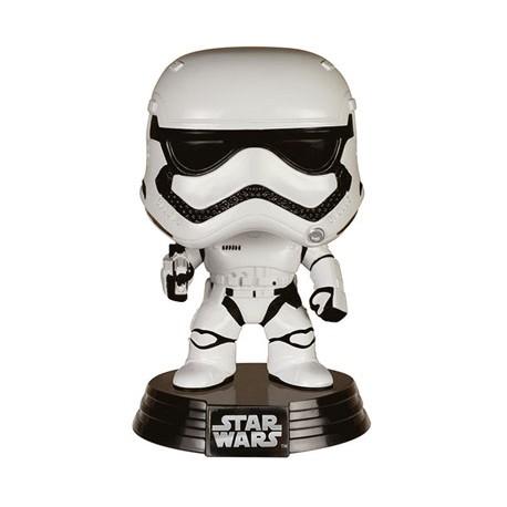 Star Wars épisode VII POP! Vinyl Bobble Head First Order Snowtrooper 10 cm