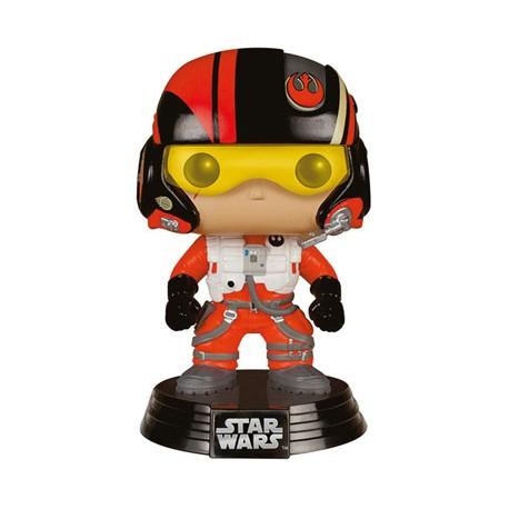 Star Wars épisode VII POP! Vinyl Bobble Head Poe Dameron 10 cm