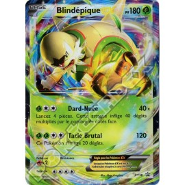 carte Pokemon BLINDEPIQUE EX XY18 PROMO no display no booster