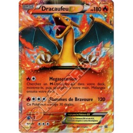 carte Pokemon DRACAUFEU EX XY17 PROMO no display no booster