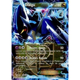 carte Pokemon DIALGA EX 65/101 explosion plasma no display no booster