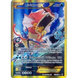 carte Pokemon Leviator Ex 123 122 XY9 Rupture turbo Francais no display no booster
