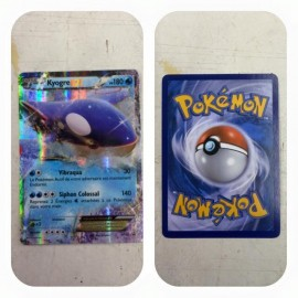 carte Pokemon XY41 Kyogre EX 180 PV PROMO no display no booster