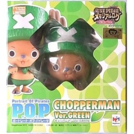 ONE PIECE P.O.P pop MEGAHOUSE tony tony CHOPPERMAN CHOPPER GREEN PROMO