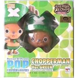 ONE PIECE P.O.P pop MEGAHOUSE tony tony CHOPPERMAN CHOPPER GREEN PROMO