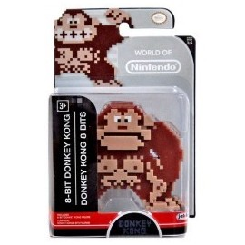 WORLD OF NINTENDO FIGURE 8-BIT DONKEY KONG Jakks Pacific