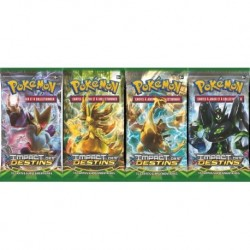 Boosters Pokémon xy10 IMPACT DES DESTINS en francais
