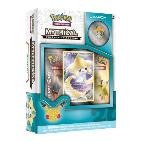 COFFRET BOOSTERS pokemon MYTHICAL 20th anniversaire pins box CELEBI GENERATIONS