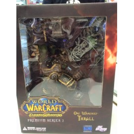 World of warcraft ACTION FIGURES ORC WRCHIEF THRALL PREMIUM COLLECTOR DC UNLIMITED