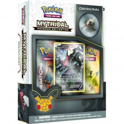 COFFRET BOOSTERS pokemon MYTHICAL 20th anniversaire pins box Darkrai GENERATIONS