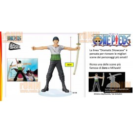 BANPRESTO One Piece DRAMATIC SHAWCASE ZORO