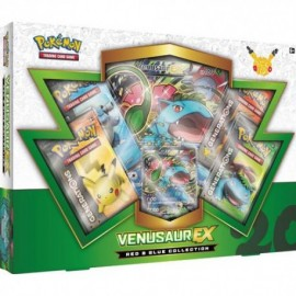 COFFRET BOOSTERS pokemon 20th anniversaire Coffret RED BLUE Collection VENUSAUR EX GENERATIONS