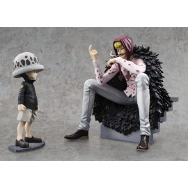 MEGAHOUSE OFFICIEL One Piece pop p.o.p corason trafalgar law limited edition