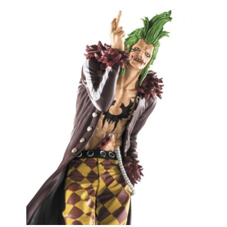 BANPRESTO One Piece Scultures Big Zoukeio 5 vol. 4 Bartolomeo PVC Statue 18cm
