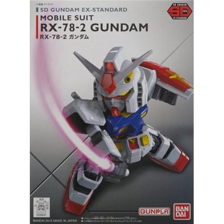 Gundam SD XXXG-00W0 WING GUNDAM ZERO Ex Standard Bandai Model Kit