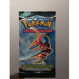 PROMO pokemon booster FRANCAIS emeraude deoxys neuf sceller officiel