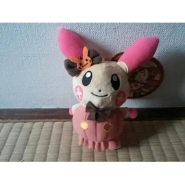OFFICIEL POKEMON CENTER PELUCHE PLUSH PORTE CLES POSIPI HALLOWEEN CIRCUS