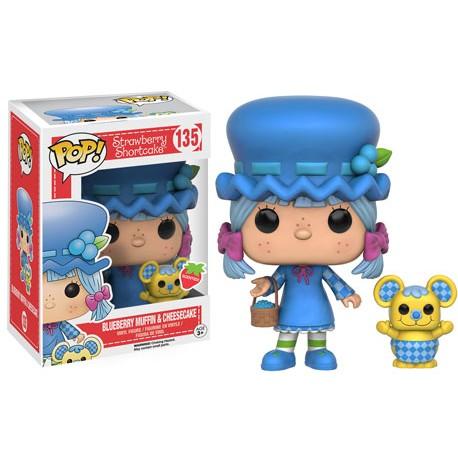 Charlotte aux fraises POP Animation Vinyl figurine Blueberry Muffin Cheesecake 9 cm