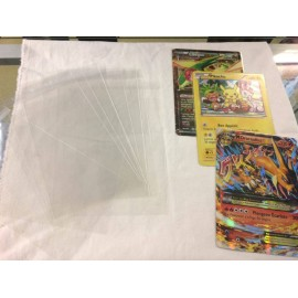 PROTECTION CARTE JUMBO POKEMON LOT DE 50 PIECE