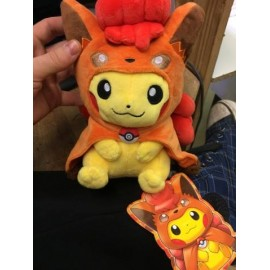 OFFICIEL POKEMON CENTER PELUCHE PLUSH PIKACHU goupix