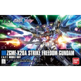 BANDAI GUNDAM ZGMF-X20A STRIKE FREEDOM Plastic Model Kit