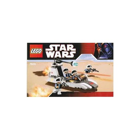 star wars LEGO 7749 notice / mode emploi