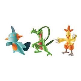 tomy figurine TRIO pack de 3 figure pokemon AQUALI VOLTALI PYROLI