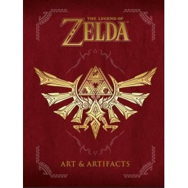 The Legend of Zelda livre Art Artifacts ANGLAIS