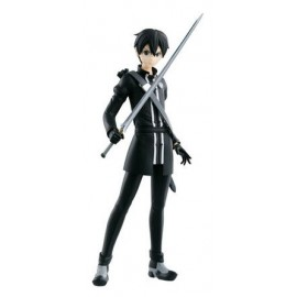BANPRESTO SAO Figurine Sword Art Online - Kirito Black Version B DXF 17cm