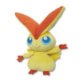 OFFICIEL POKEMON CENTER PELUCHE PLUSH VICTINI 20 CM
