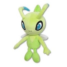 OFFICIEL POKEMON CENTER PELUCHE PLUSH CELEBI 17 CM