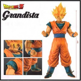 BANPRESTO Figurine DRAGON BALL Z FIGURE GOKU GRANDISTA ROS 28 CM